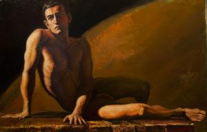 Rossati Riccardo. Réalism . Peintre à l'huile